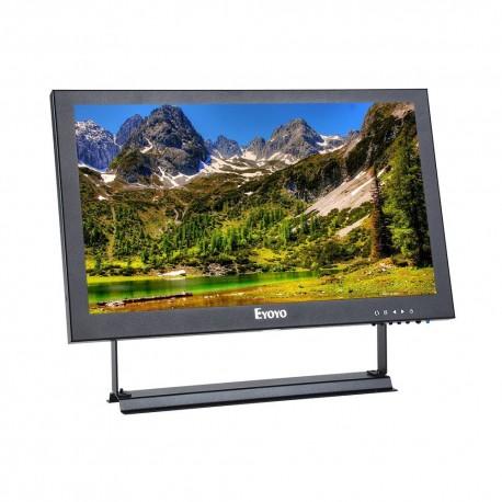 """13 """" Moniteur IPS Ecran 13 pouces 32cm 16:9 Résolution de 1920x1080 Vidéo Audio Entree VGA BNC HDMI"""