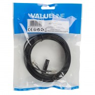 Cordon telephonique 5m rj11 6p4c vers rj45 8p4c fiche cable telephone