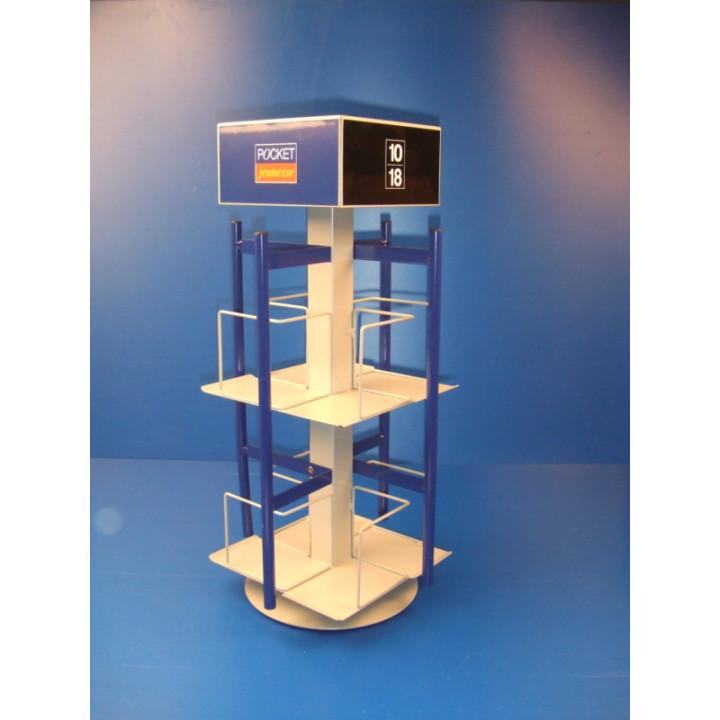 Torniquete de mesa 32 vol multimarcos presentacion exposicion produce en tienda