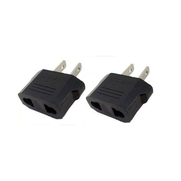 2 travel adapter plug us industry canada francia euro-convertitore / giappone americano usa usa