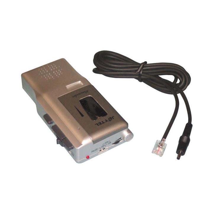 Grabador telefono 2 velocidades miniatura