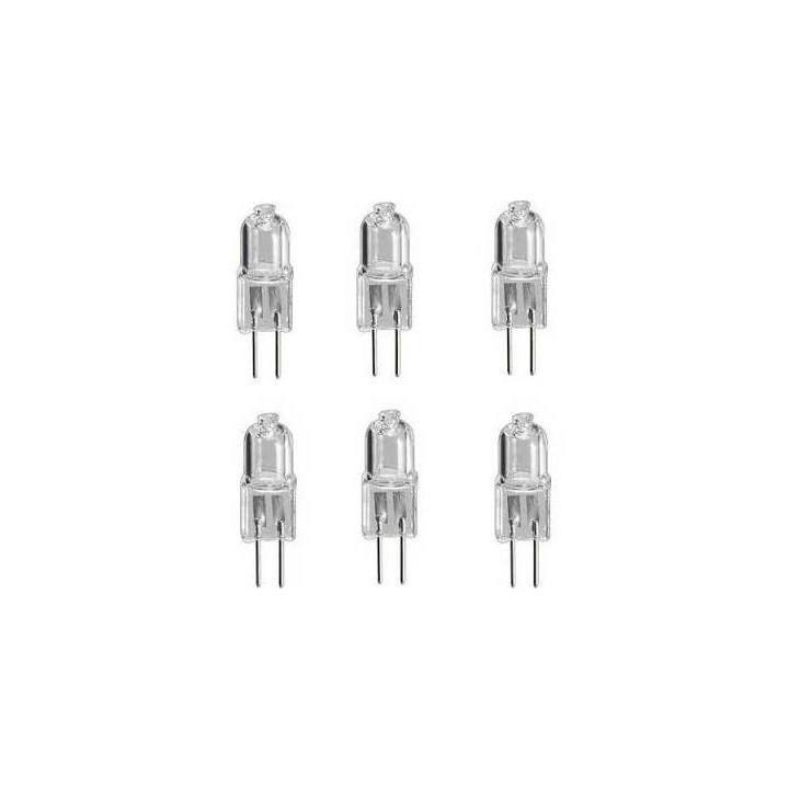 6 transparent halogen bulb 10w 12v g4 lhalg410c lamp g4 10hq