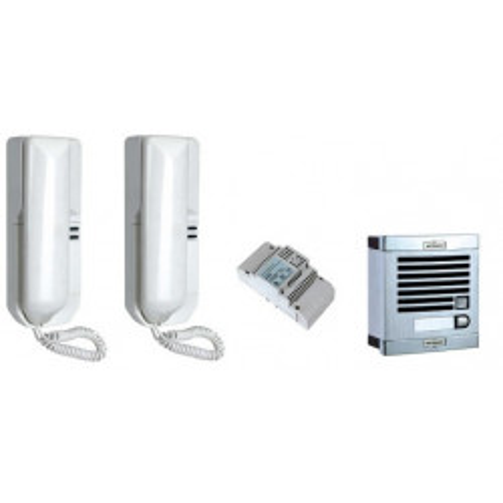 Doorphone pack single doorphone 1bp (cables to add) doorphone for houses