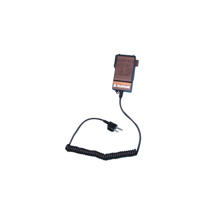 Microfono hp hat altavoz voz codificador cambista de voz para walkie talkie t434 t446 t5w