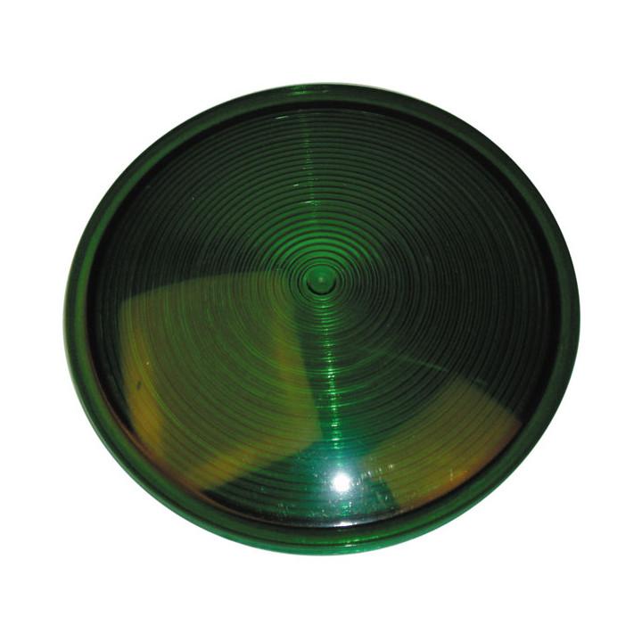 Filtro plastico verde f2202 f2203 semafora con 2 lamparas verde rojo circulacion de camino