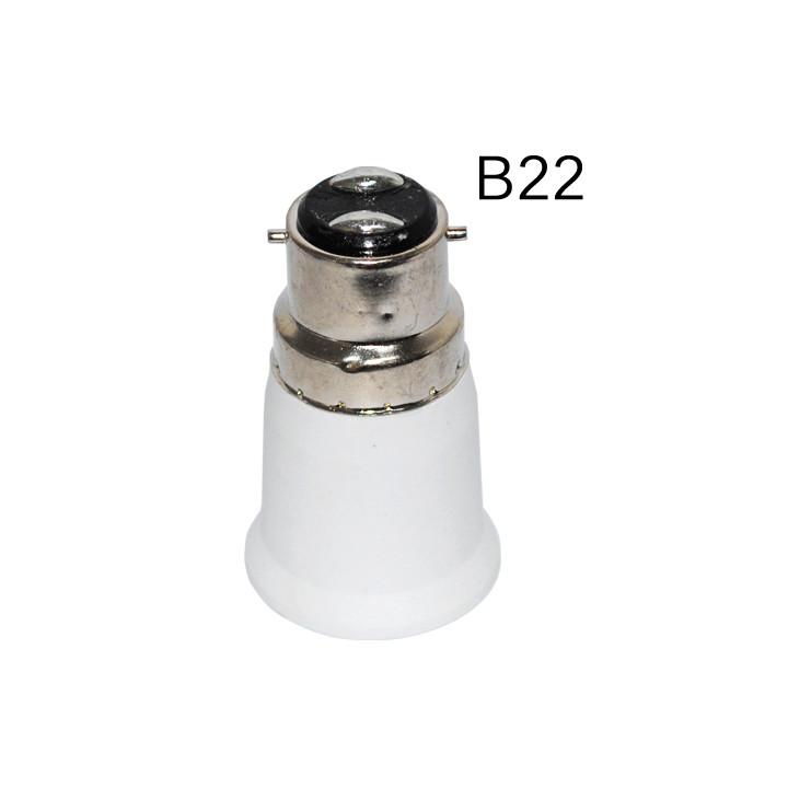 led 48v convertidor a 24v Eclats 220v e27 de adaptador lámpara adaptación Antivols B22 casquillo la toma lámpara 12v de TK1cJ3lF