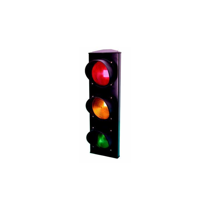 Semaforo a 3 luci 220vca verde arancione rossa segnalizzazione stradale