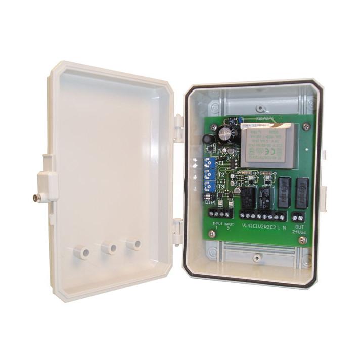 Armadio di controllo centrale per semaforo ceagf fuoco 2 o 3 lampade f2202 f2203