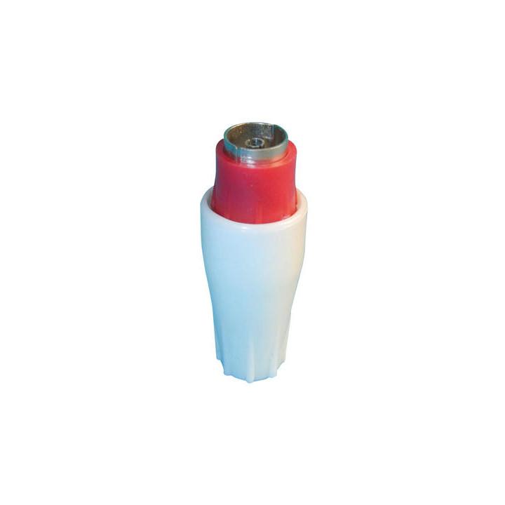 Plug female coaxial plug 9.5mm (1 unit) female coaxial plugs plug female coaxial plug 9.5mm (1 unit) female coaxial plugs plug
