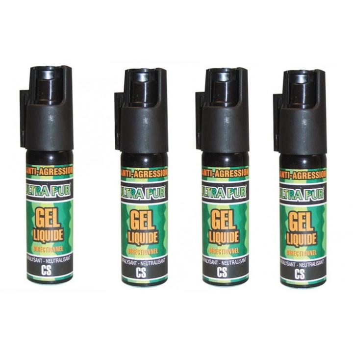 4 cs gel abwehrspray lahmung der muskulatur cs abwehrspray cs spray 25ml kleines modell selbstverteidigung