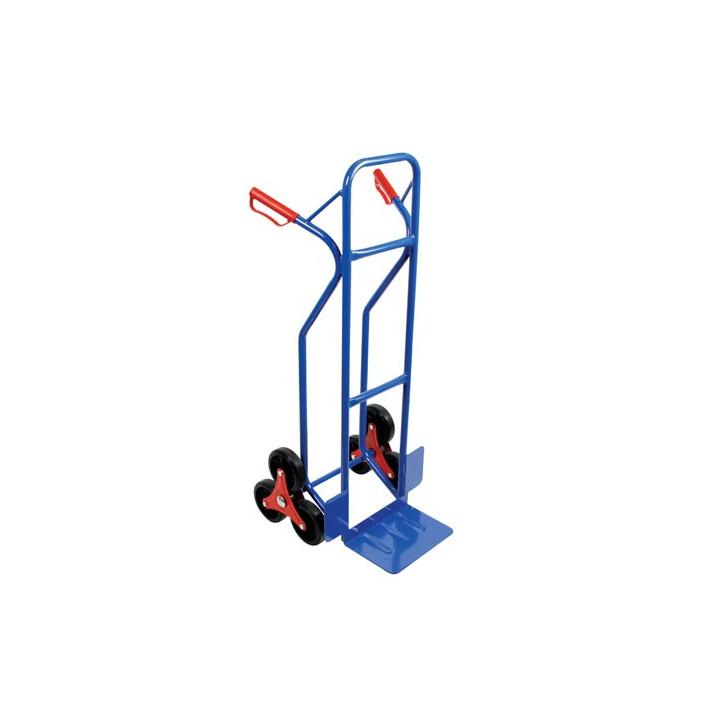 Carretilla de mano para escaleras con 6 ruedas 150kg oht6 perel transporte de mercancías del paquete