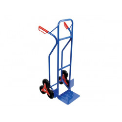Stair climbing 6 wheel hand truck 150kg trolley handling oht6 perel package goods transportation