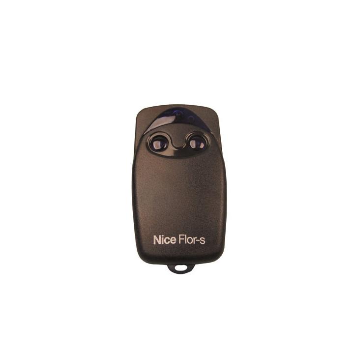 Télécommande portail emetteur nice flo2r-s 2 fonctions rolling code 433.92 mhz flo2rs code roulant