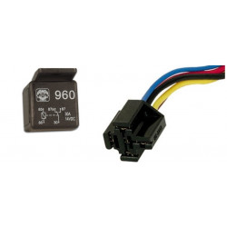 20a 30a 12v automotive relay 1 contact no / nc 5 pin + 1 pin holder