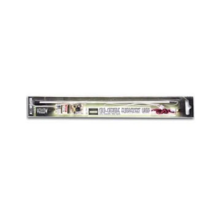 Gelbe kaltkathoden leuchtstoffrohre + versorgungsmodul 30cm (blister)