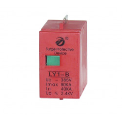 Modul LY1-b Ersatzpatrone für den Blitz pfr4t1 hohe Kapazität 80kA pfr2t1 DIN-Schiene