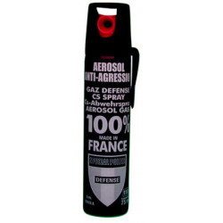 Aerosol gas paralisante 2% 75ml gran modelo cs spray cs spray cs spray lacrimogneo defensa legitima aerosoles