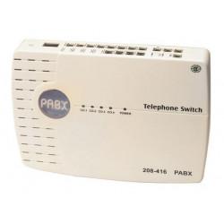 Central standard telephonique 3 lignes 12 postes presentation numero td 312a selecteur fax telephone