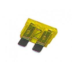 Fusible de coche 20a (amarillo) alarmas camion electricas
