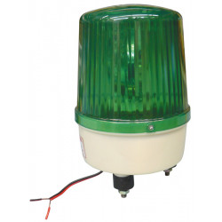 Rotating light ''green fixed'' (12vdc 35w)