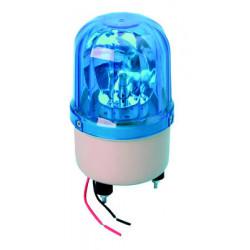Girofaro fisso 12vcc 10w blu (fissazione con viti) rb101 girofari elettrici fissi colore blu