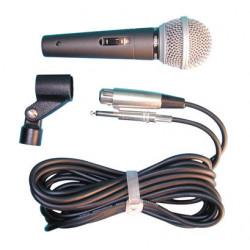 Microfono con cable de conexion
