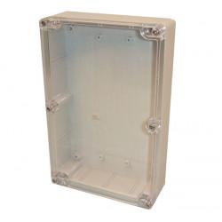 Cassetta di sicurezza abs scatola 222x146x55mm scatola di plastica trasparente in pvc scatola g218c dispositivi di protezione