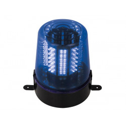 108 Blue LED beacon 12v + 220v power supply girophare vdllplb1 light effect