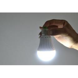 Rechargeable led emergency light lighting 5w e27 led bulb lamp for home 2835 smd battery lighs led bombillas ce rohs