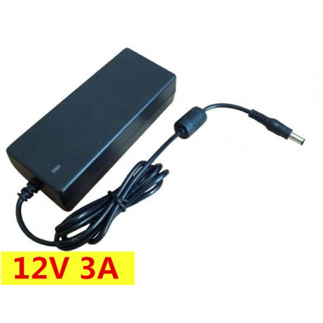 12V 3A AC Adaptor Power Supply Charger 5.5*2.5mm For LCD Monitor TV 100-240V 36W