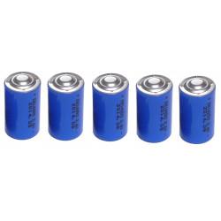 5 x 3.6v 1200mah lithium battery 1/2 aa tl5902 tl5151 tl5101 tl4902 ls14250 14250 ls tl sl750 sl350 lct1200