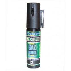 Aerosol gas paralisante 2% 25ml pequeño modelo anti agresion autodefensa antirrobo proteccion individual seguridad