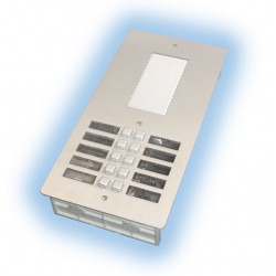 Intercom street intercom plate for 10 apartments external intercom station intercom system audio and intercom panels intercom st