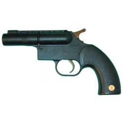 Single shot 12 gauge defense pistol. shoots a single 12 50 cartridge