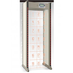 Detector de metales 21 zonas ts1252 100 ac 60Hz 240V en el aeropuerto de 50 aeropuertos que llevaba banco del hospital