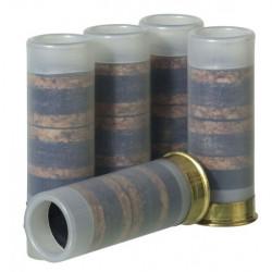 4 cartouches balles a blanc calibre 12/50 pour arme gc27 gv27l gc54 gc54da self selfo munition balle