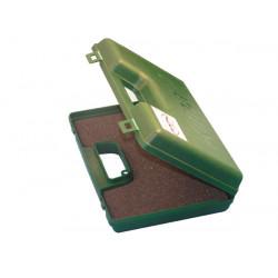 Valigia scatola della gomma piuma trasporto arma di difesa gc27l pvc finestra di scosse