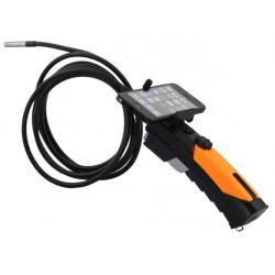 Cámara con endoscopio teléfono inteligente wifi cámara de inspección con boroscopio articulados 3 metros WF200