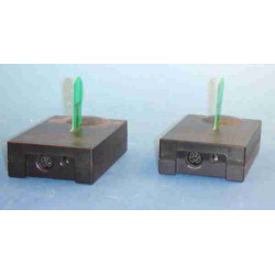 Transmitter receiver without wire 2,45ghz video audio stereo