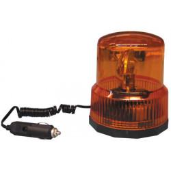 Girofaro electrico magnetico 12v cc ambar (sc782) ltd 02 giraforos magneticos