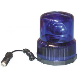 Girofaro electrico magnetico azul 12vcc (sc782) ltd 02 girofaros magneticos