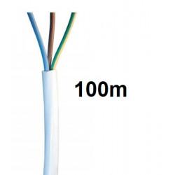 Elektrokabel 3 drahte 0.75mm2 ø7mm 100m elektrischkabel sicherheitsprodukte kabel und zubehor fur sicherheitsprodukte elektrokab