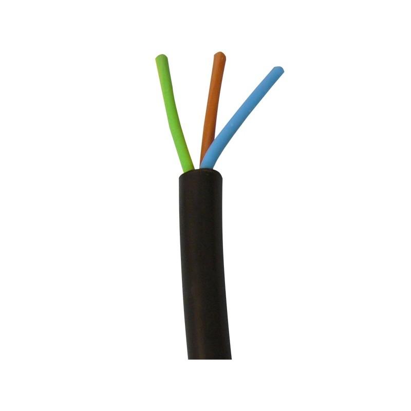cable electrique 100m 3x2 5 r2v 3 fils 2 5mm2 u1000 ro2v 3g2 5 secteur cablage eclats. Black Bedroom Furniture Sets. Home Design Ideas