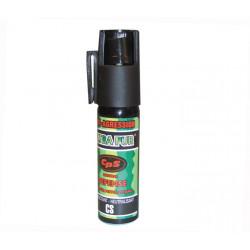 Aerosol gas paralisante pimienta 25ml pequeño modelo gas pimienta spray pimienta lacrimogneo gas defensa seguridad