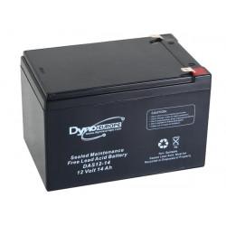 Accumulator battery lead acid 12v 14Ah 150x97x99mm das12-14