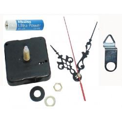 Mecanismo de las agujas del reloj de cuarzo de 23 mm con eje largo bss6188