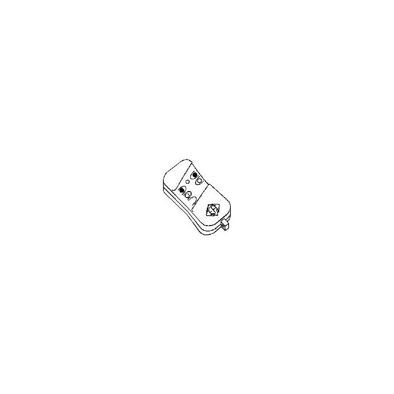 Telecomando Miniatura 2 Canali 50 200m 433mhz Army2 Mini Telecomando