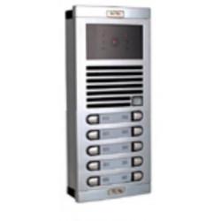 Video elektronik gegensprechanlage schwarz und weiss fur 10 wohnungen gegensprechanlagen sicherheitssystem sicherheitssysteme el