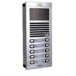 Video intercom street intercom plate b w for 10 flats external intercom station intercom system audio and intercom panels interc