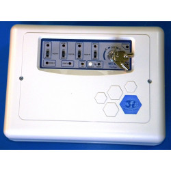 Central alarma electronica 6 zonas 220vca central antirobo centrales alarmas electronicas central alarma electronica